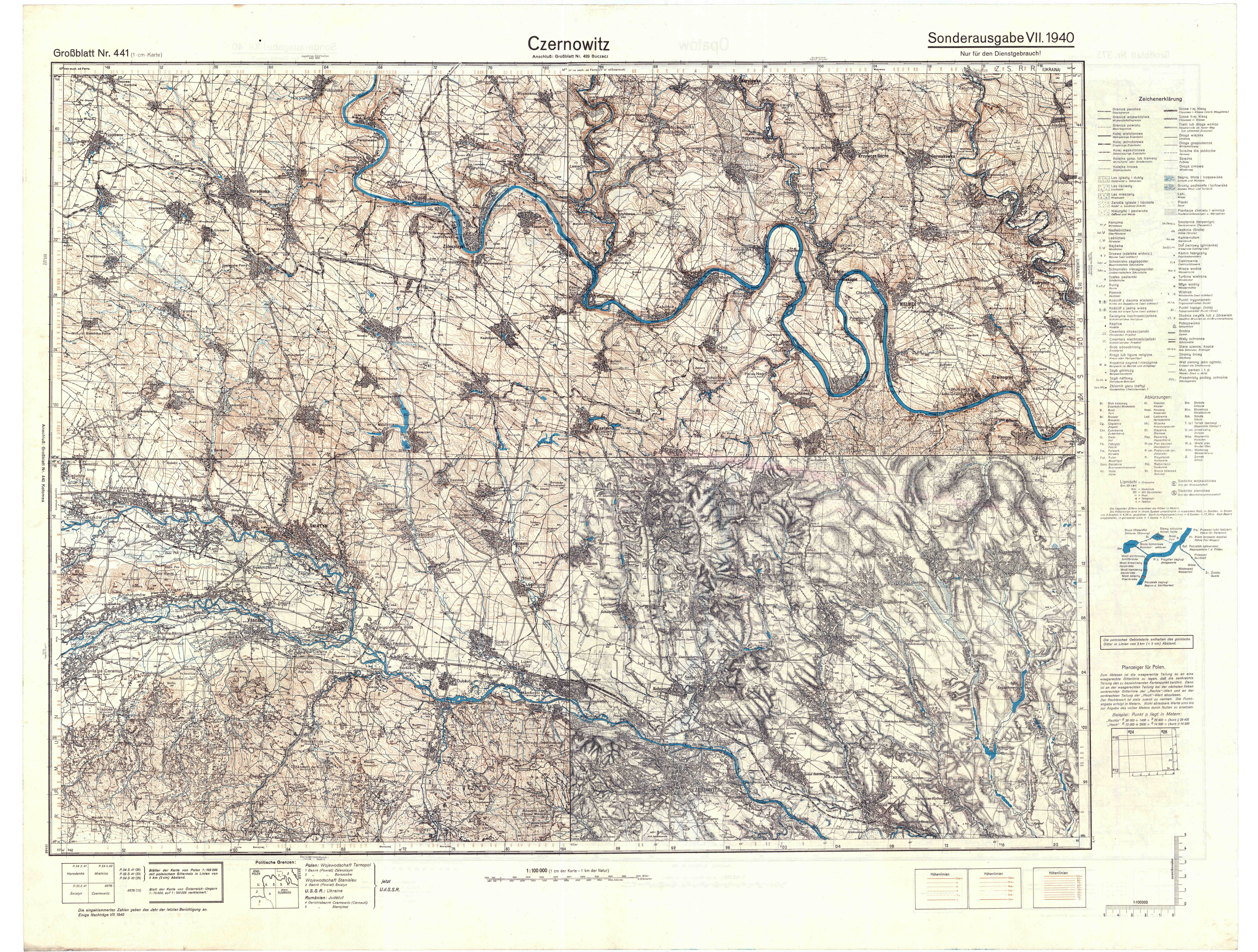 Maps - Germany map 1940