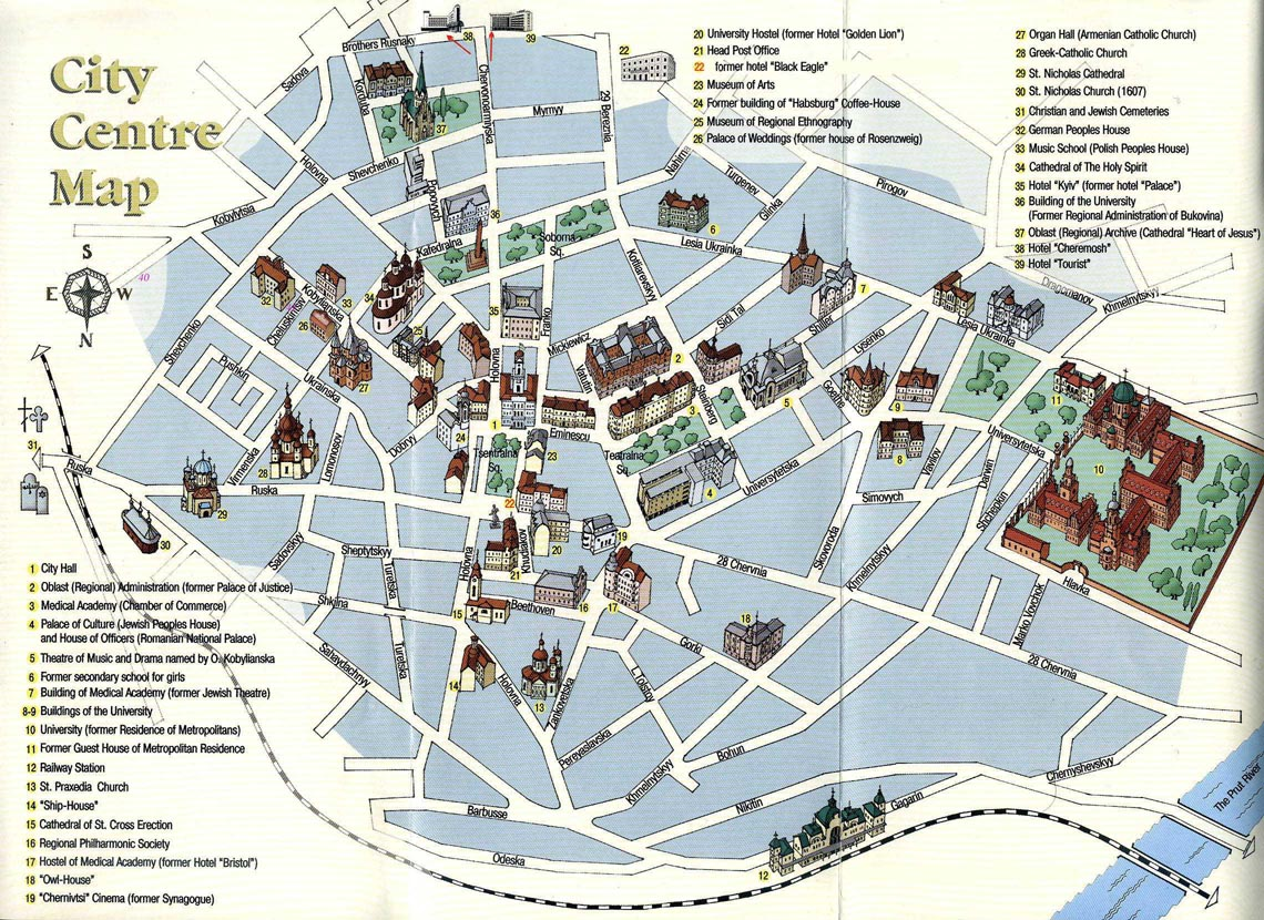 Pin by G-TLV on travel in 2019 | Tourist map, Walking map, Map