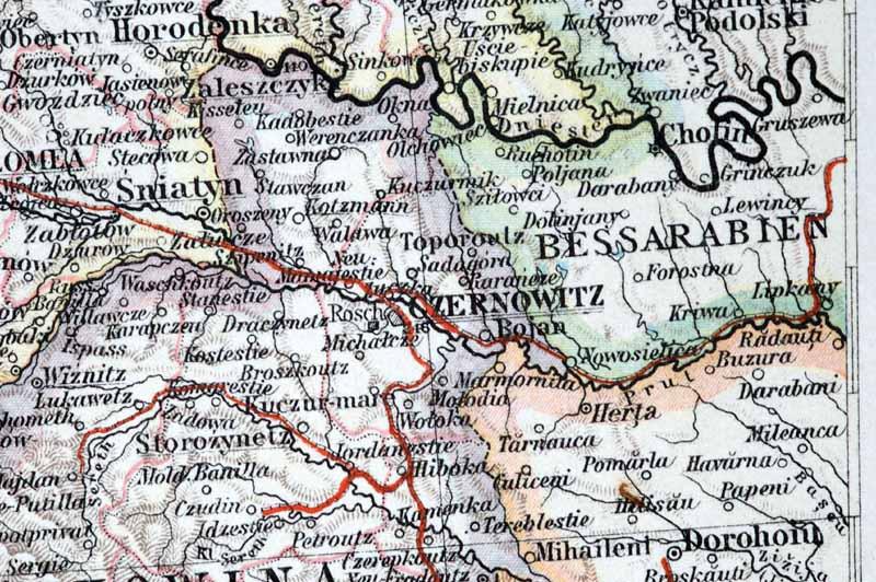 Bildergebnis für Czernowitz karte